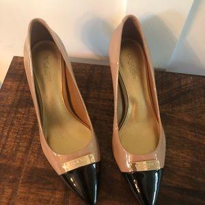 Coach two tone heels
